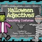 This pack includes 14 different Halloween costumes for the kiddos to describe.  Each costume has a recording sheet that is in color as well as blac...