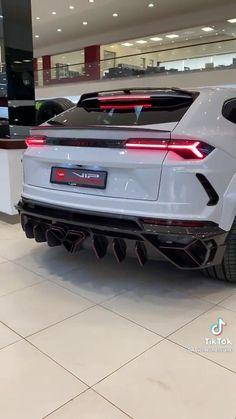 Lamborghini Urus Parking In Showroom Street Racing Cars, Sports Car Racing, Race Cars, Lamborghini Veneno, Best Luxury Cars, Love Car, Car Videos, Car Wallpapers, Funny Pranks