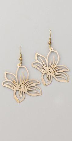 Flower Earrings by Monserat De Lucca