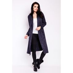 Size S/M L/XL Bust 88 cm 91 Waist 48 cm 51 Hips 49 cm 51 Sleeve length 62 cm 64 Total length 108 cm 110 Thomas Sabo, Budget Fashion, Hooded Jacket, Duster Coat, Sweaters For Women, Navy Blue, Sport, Womens Fashion, Casual