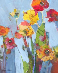 wildflowers original painting