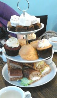 Afternoon Tea Review - Bea's of Bloomsbury