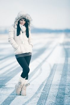 snow portrait by RICOW.de, via Flickr