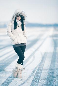 snow portrait by RICOW.de, via Flickr