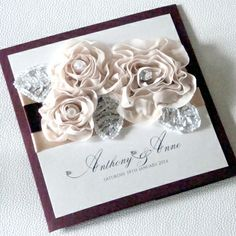 Stunning wedding stationery via hitched.co.uk; T for Two Invitations