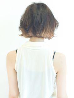 ボブはインナーカラーや耳かけでおしゃれに! の画像 アフロートジャパン(AFLOAT JAPAN)銀座ディレクター松島春樹の気ままな美容ブログ