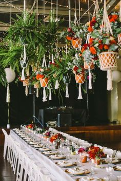 Maybe you're hoping your Big Day will feel like an epic fairy tale wedding, or maybe you're a more whimsical bride who prefers a boho wedding vibe. Either way, this latest wedding decor trend is su… Wedding Trends, Wedding Designs, Boho Wedding, Wedding Table, Wedding Flowers, Wedding Blog, Wedding Seating, Wedding Reception, Decor Wedding