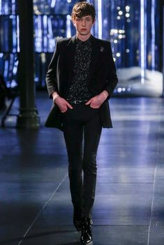 Saint Laurent Fall 2015 Menswear Collection Photos - Vogue