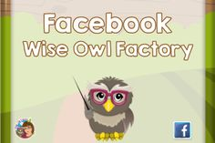 Wise Owl Factory Facebook page, look for free download