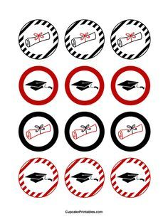 Wrappers for Cupcakes graduation - Cerca con Google
