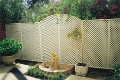 Plastic Lattice combines deep timber texture, rich colors and gives best quality and consistency of materials. We provide versatile and beneficial in reasonable rates. Plastic Lattice, Trellis Panels, Backyard, Patio, Rich Colors, Consistency, Outdoor Decor, Gardening, Deep