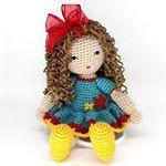 """19 curtidas, 2 comentários - Bonecas de Crochet  (@marianamimoteca) no Instagram: """"Violeta! #amigurumi #crochet #crochê #croche #presentes #crochetdoll #bonecas #bonecadecrochet…"""""""