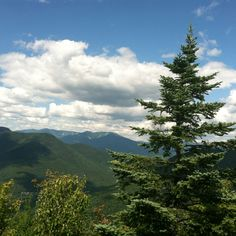 Atop Loon mountain!