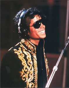 Michael Jackson circa 1985.  Look at that smile...