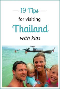 Visiting Thailand with kids.