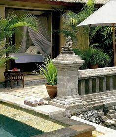 Jimbaran, Bali. guess my architectural style is Balinese