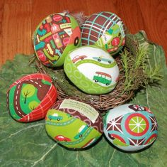 Boys Easter Eggs!