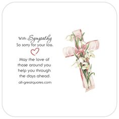 Condolence Deepest Sympathy Cards With Beautiful Messages. Share these lovely sympathy, condolences cards with grief stricken family and friends. Words For Sympathy Card, Condolence Messages, Sympathy Quotes, Condolences Messages For Loss, Words Of Condolence, Prayers For Grieving, Prayers For Healing, Appreciate You Quotes, Thinking Of You Quotes
