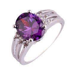Empsoul 925 Sterling Silver Natural Novelty Plated Amethyst Topaz Engagement Bridal Ring https://www.amazon.com/dp/B01M2VB7UU