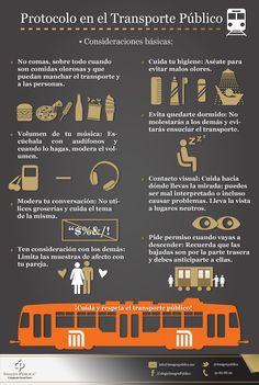 No olvides los Imagotips de Alvaro Gordoa al hacer uso del Transporte Público.