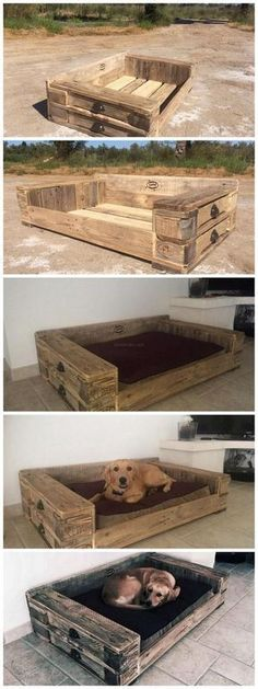 Pallet Dog bed – Tap the pin for the most adorable pawtastic fur baby apparel! You'll love the dog clothes and cat clothes! Pallet Dog bed – Tap the pin for the most adorable pawtastic fur baby apparel! You'll love the dog clothes and cat clothes! Pallet Crafts, Pallet Projects, Woodworking Projects, Diy Projects, Woodworking Equipment, Woodworking Basics, Woodworking Supplies, Woodworking Classes, Woodworking Furniture
