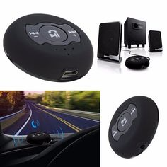 Audio Bluetooth 4.0 Music Receiver Adapter Hands Free Car Kit Set 3.5mm Speaker
