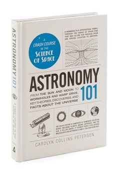 Astronomy 101. If your artistic studies left you wishing you were more well-versed in all things scientific, this book by Carolyn Collins Petersen is your crash course! #multi #modcloth
