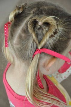 Wanna try this to Rains hair for valentines day
