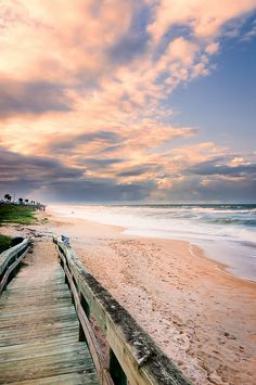 Flagler Beach, Florida- yeah, I could wake up to this every day!!!!