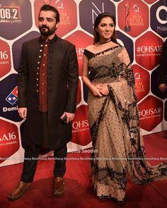 Hamza Ali abbasi & Mahira khan at #HSA16! ✨ - - #Hamzaaliabbasi #Mahirakhan #Followus ✨