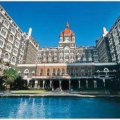 Taj Mahal Hotel in Bombay, India (now known as Mumbai).  Incredible resort!