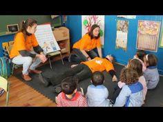 RCP desde mi cole: Taller para niños de Infantil - YouTube