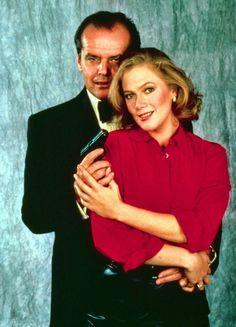 """Jack Nicholson y Kathleen Turner en """"El Honor de los Prizzi"""", 1985"""