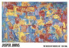 "Jasper Johns, ""Map"""