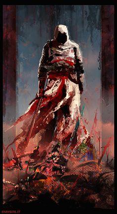 AC: The god of war by Jael-Kolken.deviantart.com