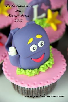 DORA CUPCAKES - ILAYDA BIRTHDAY, via Flickr.