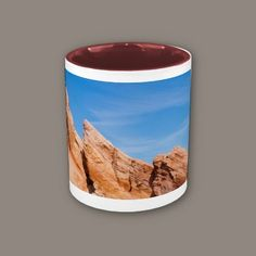 Fingers Rock Formation Valley of Fire Coffee Mug from $13.95 #landscapes #deserts #photography