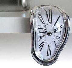 Time Warp Shelf Clock, $13.62