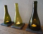 Wine Bottle Tea Light Candle Holders Hurricane Lamps Lanterns Large Quantities Available