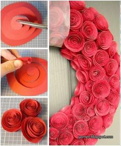 a cute idea for valentine's day!  it might take forever though for me to complete!