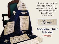 Abundant Grace Applique Quilt Tutorial - Sewing Parts Online - Everything Sewing, Delivered Quickly To Your Door