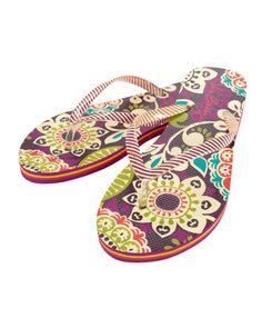 190c58e441 Vera Bradley flip flops!! Too cute! Cute Flip Flops