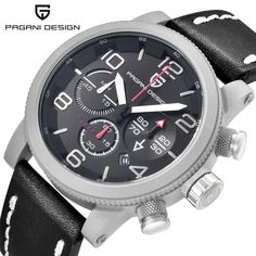 69.80$  Watch here - http://ali9nc.worldwells.pw/go.php?t=32683819289 - PAGANI DESIGN Top Brand Luxury Men Swimming Quartz Outdoor Sports Watches Military Relogio Masculino Clock With Leather Strap 69.80$