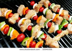 Chicken Shish Kabobs :))