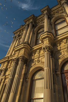 BEYLERBEYI PALACE: was built by (Armenian Architects)Balyan Family in Baroque-style for Sultan Abdulmecit, between 1861-1865, in Istanbul. Beylerbeyi Palace. Anatolian side İstanbul
