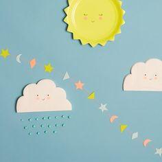 Napkins Cloud Shaped - Meri Meri
