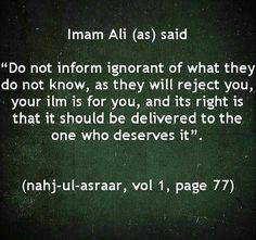 Quotes: Imam Ali ( a. Islamic Love Quotes, Muslim Quotes, Religious Quotes, Hazrat Ali Sayings, Imam Ali Quotes, Religion, Intellectual Quotes, Meaningful Quotes, Inspirational Quotes