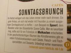 Sonntag-brunch  Spoerl MAlkasten