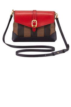 Fendi Pequin Pouchette Bag