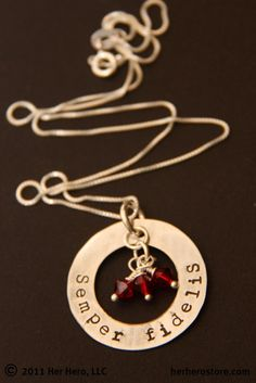 Semper Fidelis Sterling Silver Ring by herhero on Etsy, $34.00